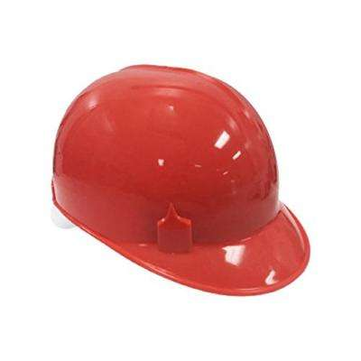 Red Pin HDPE Cap Style Bump Cap with 4-Point Lock Suspension