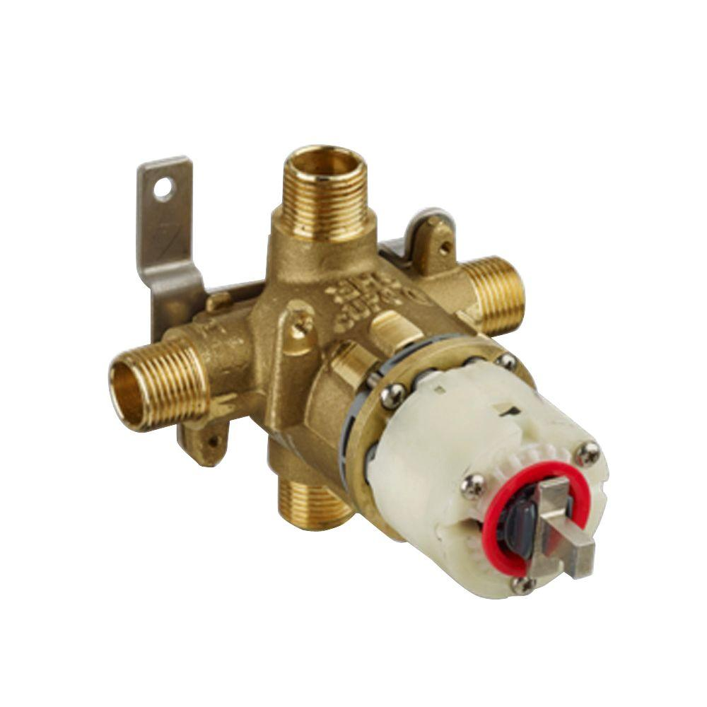 1/2 in. Pressure Balance Rough Valve with Universal Inlets and Outlets