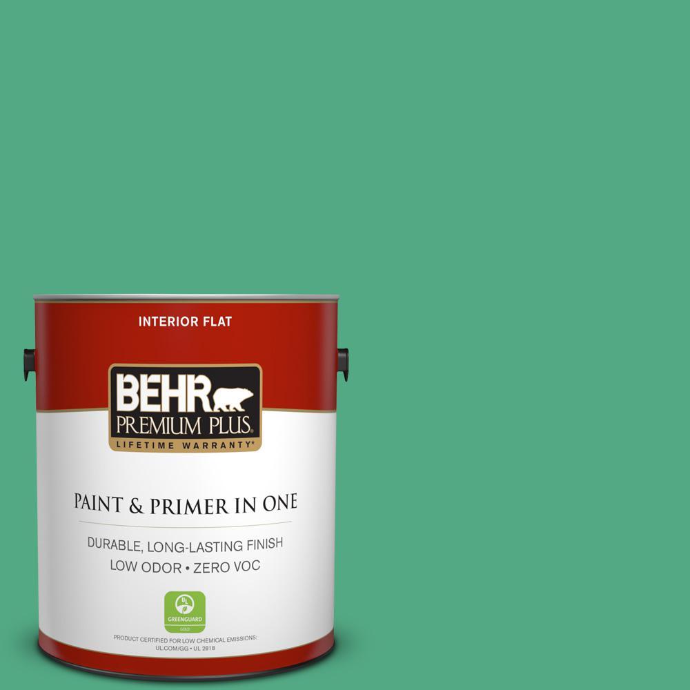 BEHR Premium Plus 1-gal. #T14-4 Edgewater Flat Interior Paint