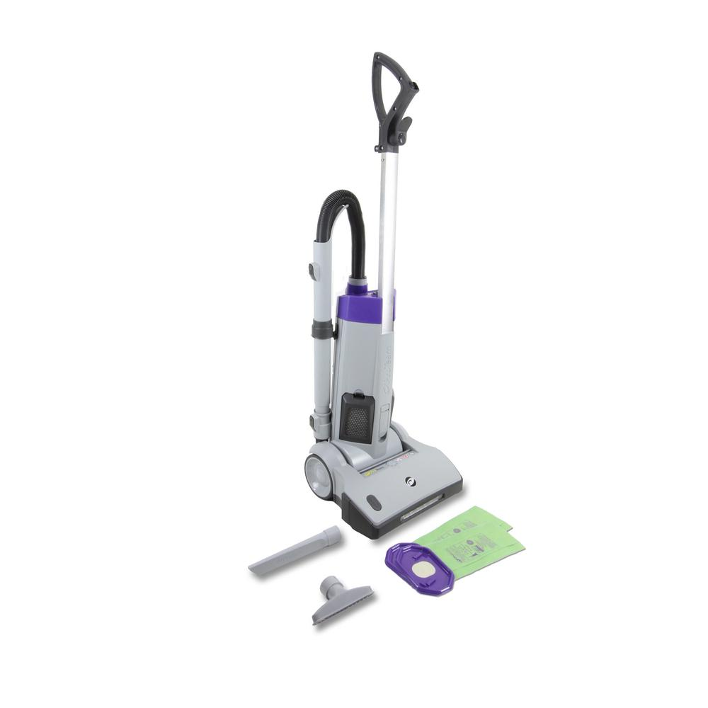 ProTeam Upright Vacuum Cleaner, Grays