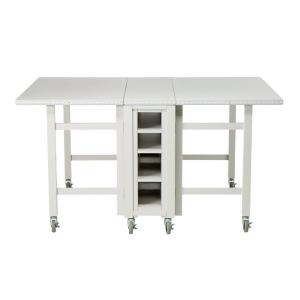 Martha Stewart Living Picket Fence Collapsible Craft Table-0795000400 - The  Home Depot