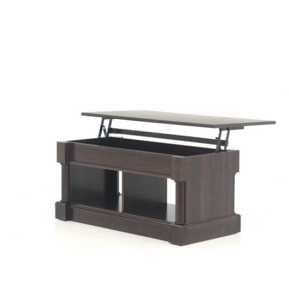 Internet #303248584. +5. SAUDER Palladia Select Cherry Lift Top Coffee Table
