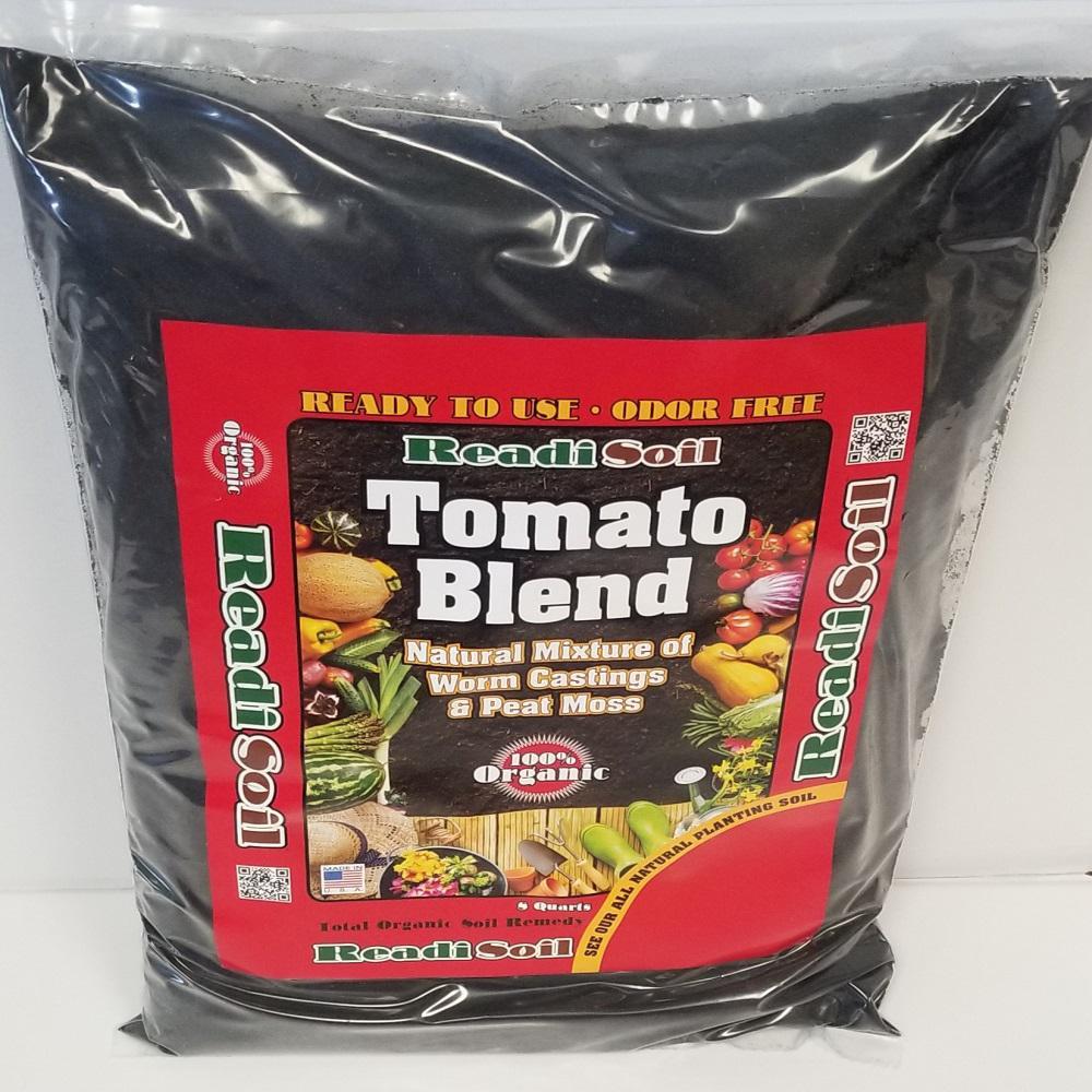 8 Qt. 100% Organic Worm Castings Tomato Blend