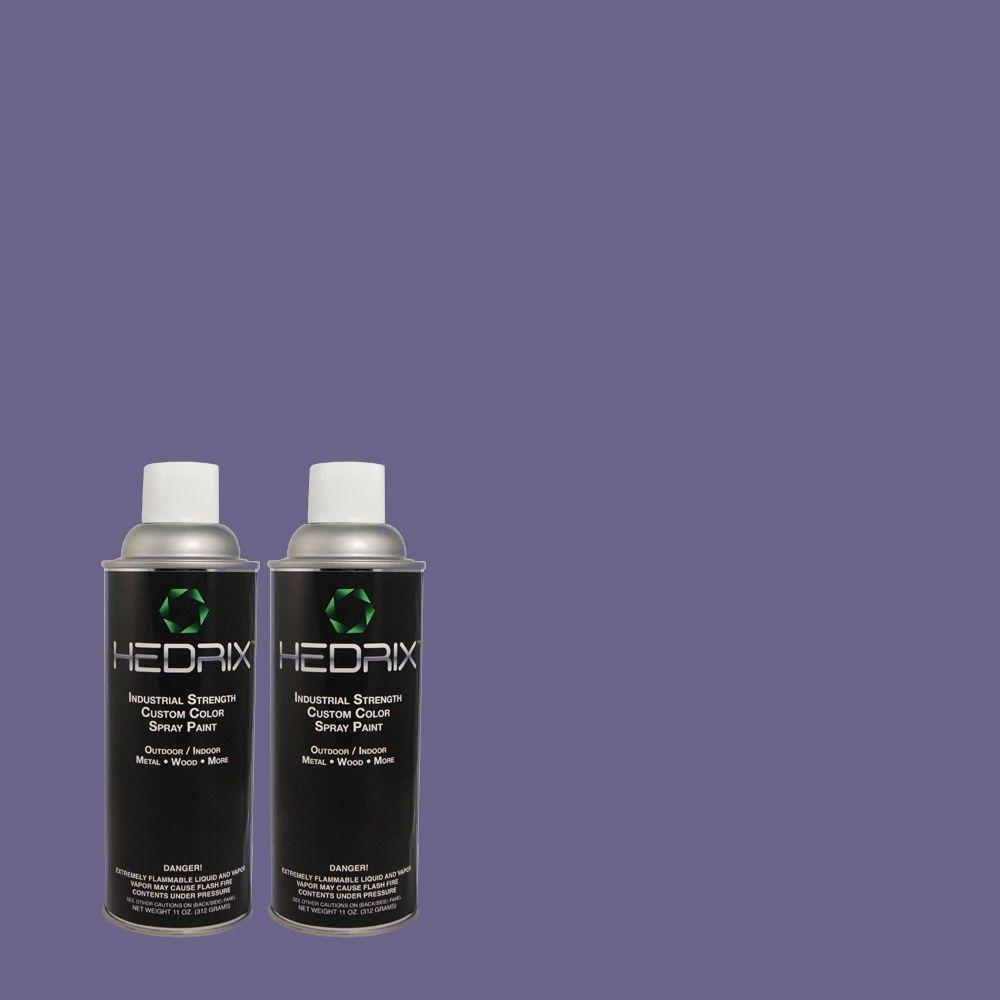 Hedrix 11 oz. Match of S-G-620 Wizard Semi-Gloss Custom Spray Paint (2-Pack)