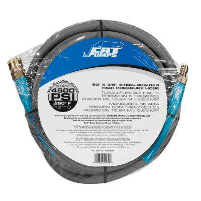 50 ft. 4,500-PSI 5-GPM Hot Water Pressure Washer Hose