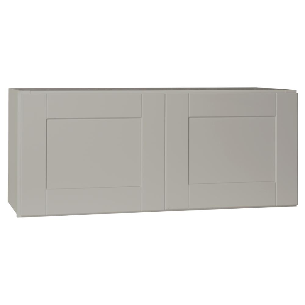 Hampton Bay Shaker Assembled 36x15x12 In. Wall Bridge