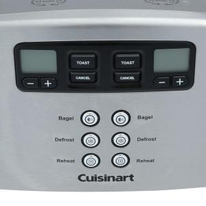 Cuisinart Touch to Toast Leverless 4 Slice Toaster CPT 440 The