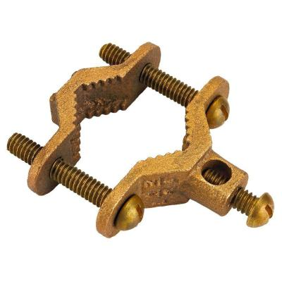 1/2 in.- 3/4 in. CSST System Brass Bonding Clamp