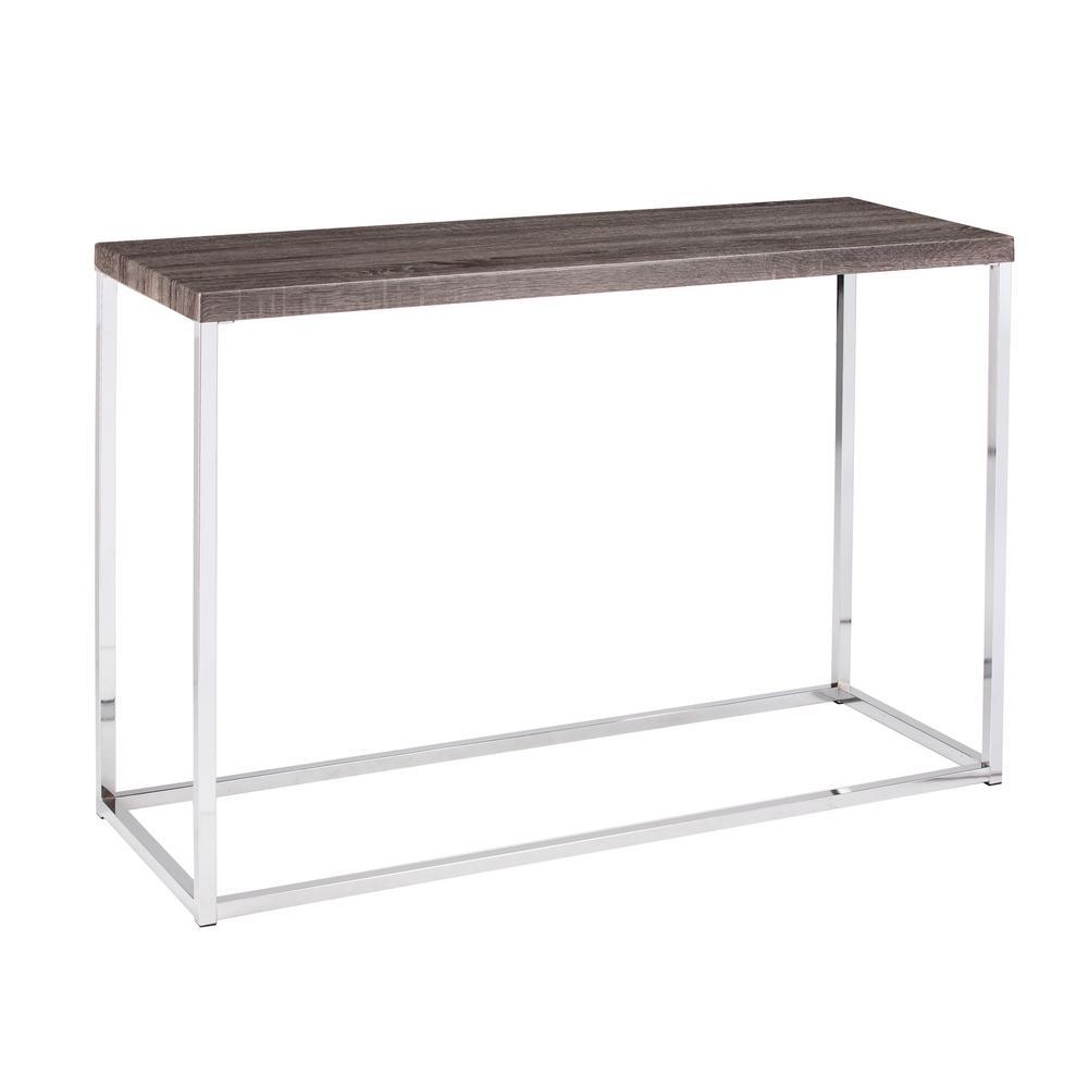 Southern Enterprises Serena Gray Console Table