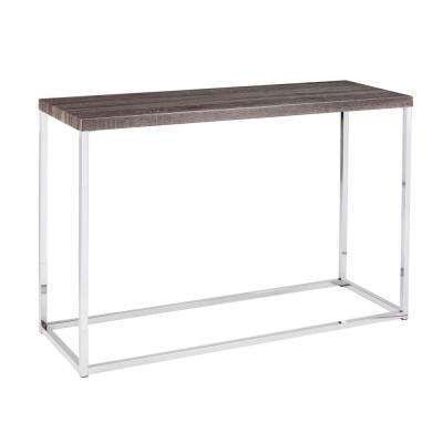Serena Gray Console Table
