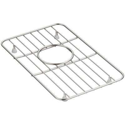 Whitehaven 9-1/8 in. x 14-1/2 in. Sink Bowl Rack in Stainless Steel