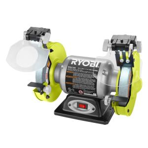 Ryobi 2 1 Amp 6 In Grinder With Led Lights Bg612g The