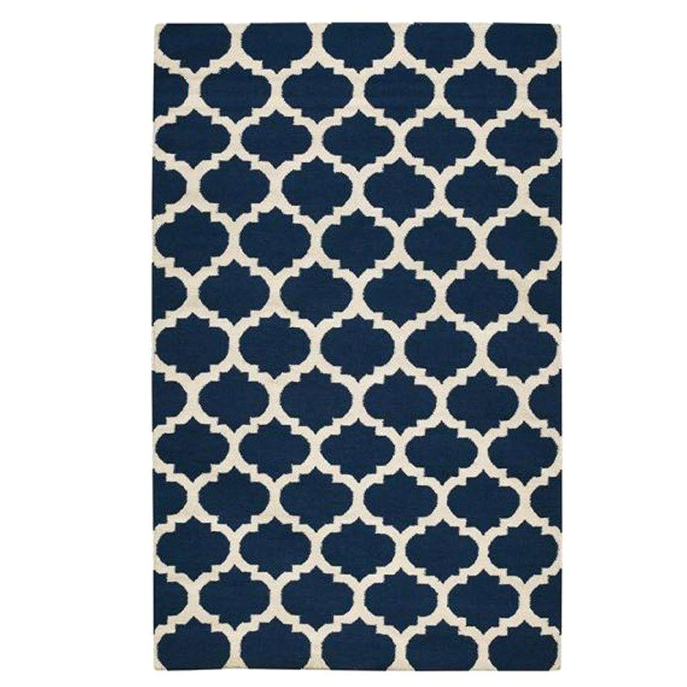 Allure Navy 7 ft. x 9 ft. Area Rug