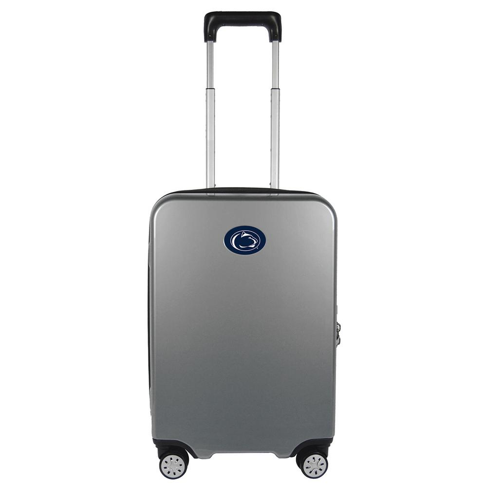 NCAA Penn State Premium Silver 22 in. 100% PC Hardside Carry-On