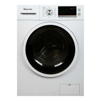 2.0 cu. ft. Ventless Washer and Electric Dryer Combo in White