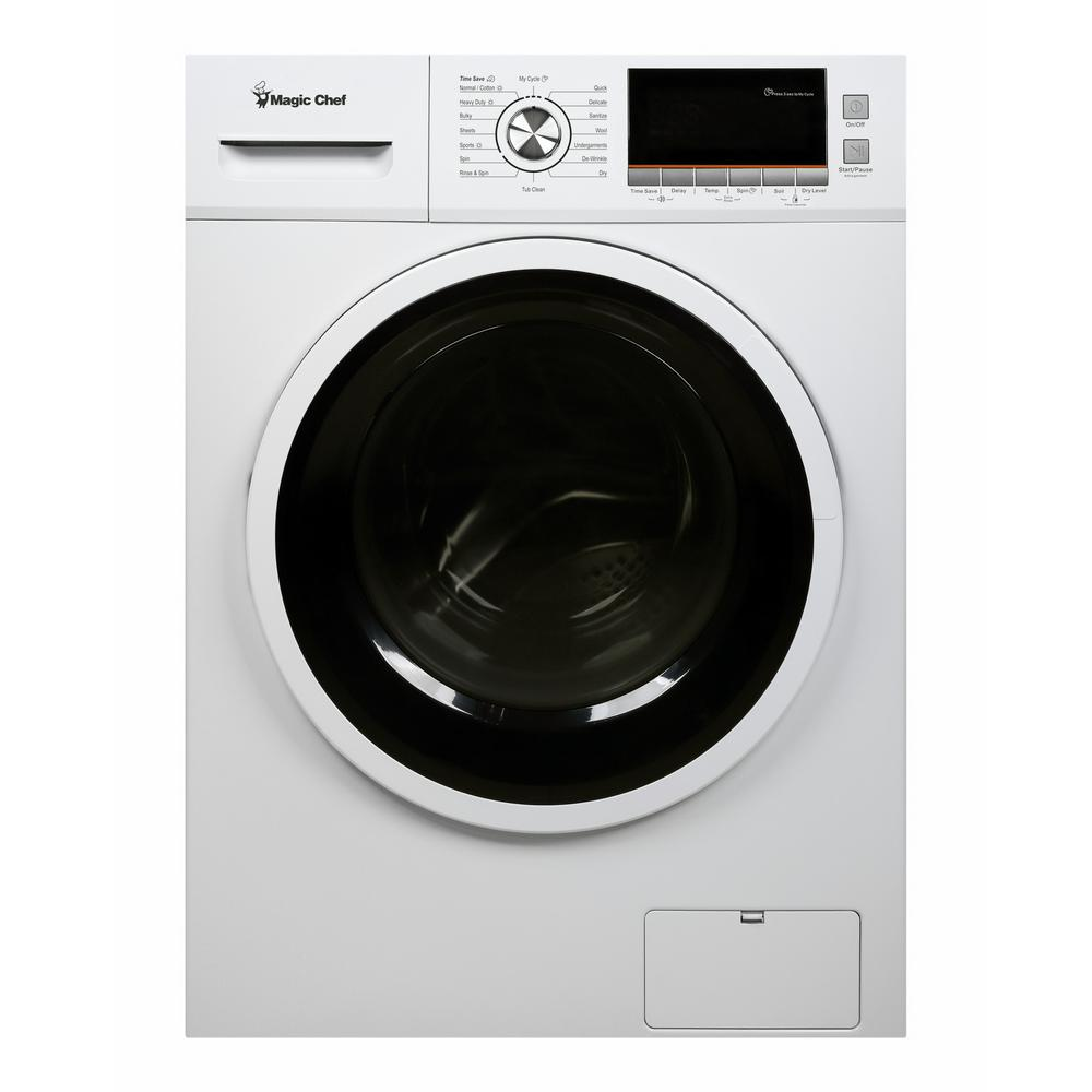 Magic Chef 2.0 cu. ft. All-in-One Washer and Ventless Electric Dryer in White