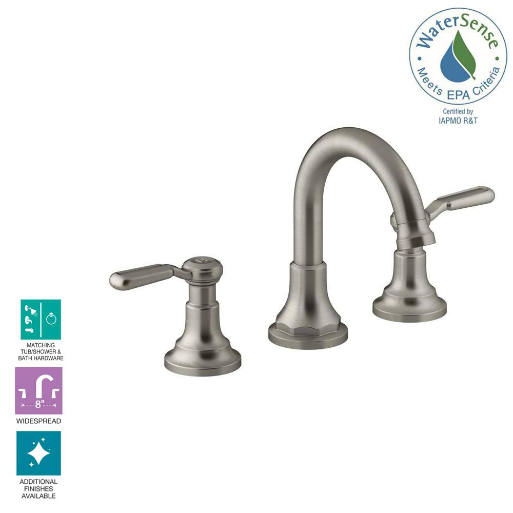 Kohler Worth 8 In Widespread 2 Handle Bathroom Faucet In