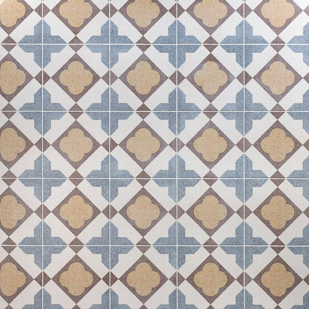 Ivy Hill Tile Branwell Law 9 in  x 9 in  11mm Matte Porcelain Floor and  Wall Tile (10 76 sq  ft  / Box)
