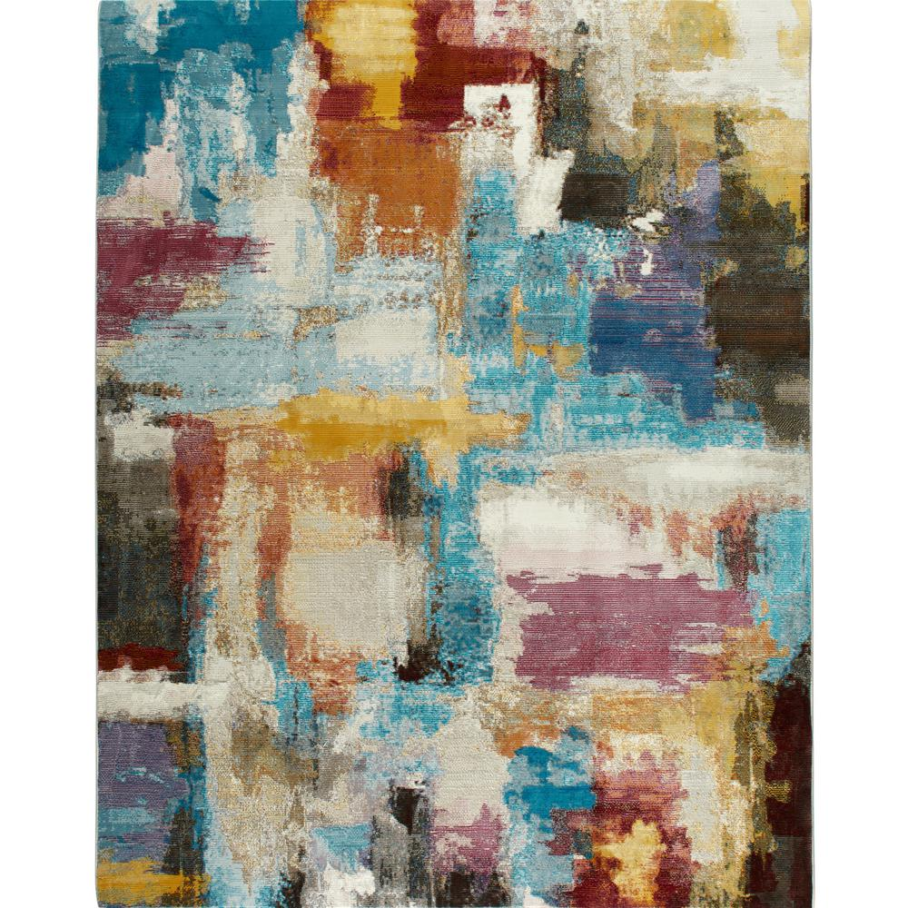 Nicole Miller Parlin Multi 5 Ft X 7 Indoor Area Rug 2a V030a 999 The Home Depot