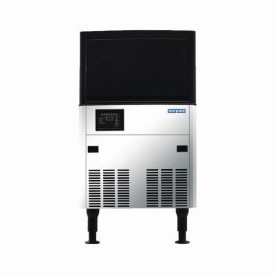 120 lbs. Freestanding Commercial Ice Maker in Stainless Steel