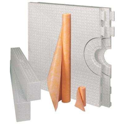 Kerdi-Shower-Kit 32 in. x 60 in. Kit without Drain