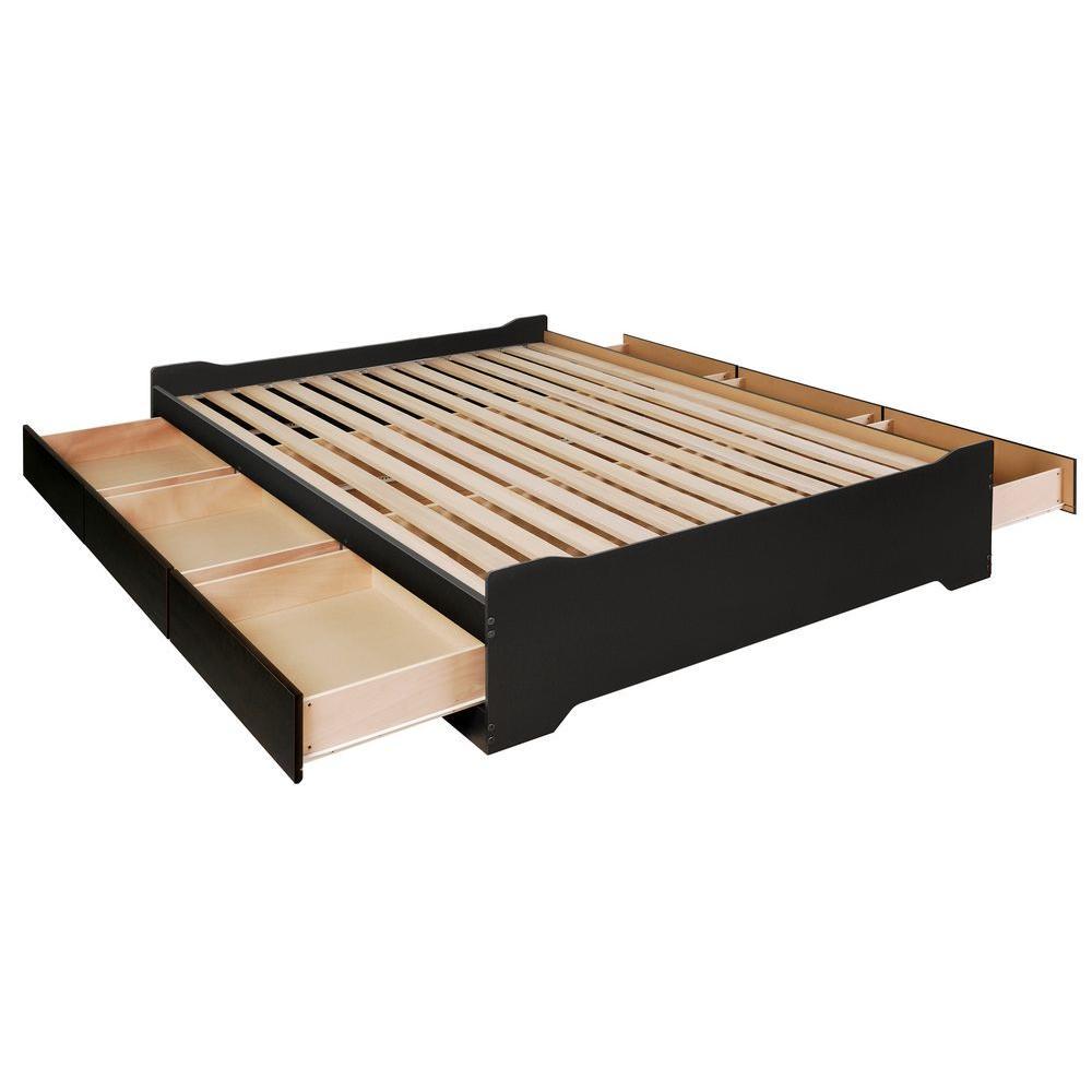 Coal Harbor Queen Wood Storage Bed