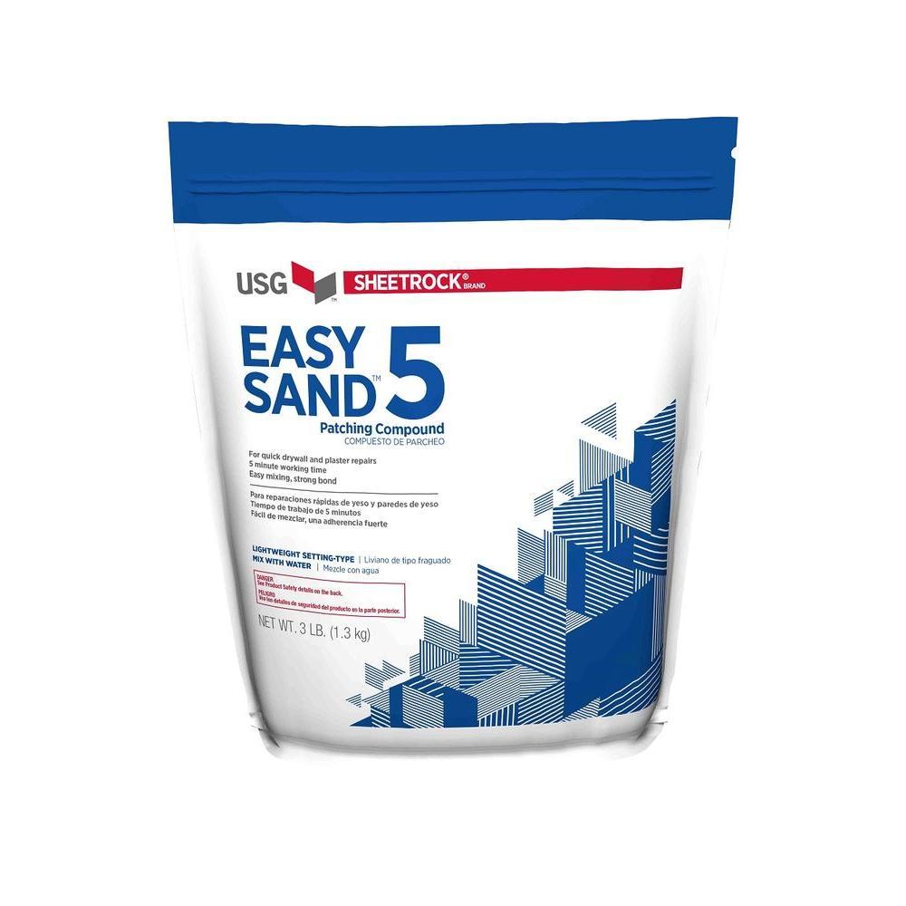 USG Sheetrock Brand 3 lb. Easy Sand 5 Lightweight Setting-Type Joint Compound
