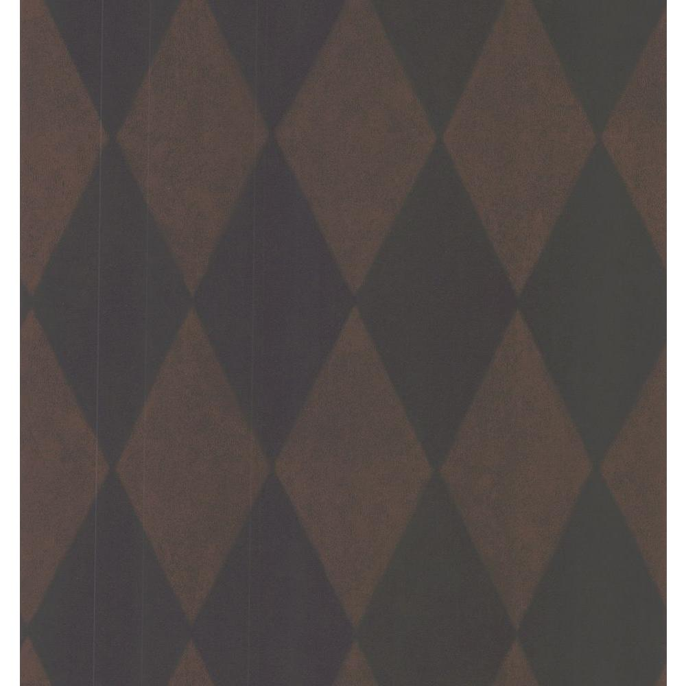 Brewster 56 sq. ft. Harlequinn Wallpaper-DISCONTINUED