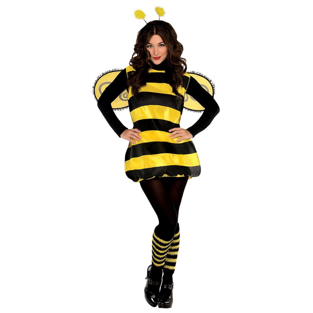amscan darling bee women's halloween costume standard-841875 - the
