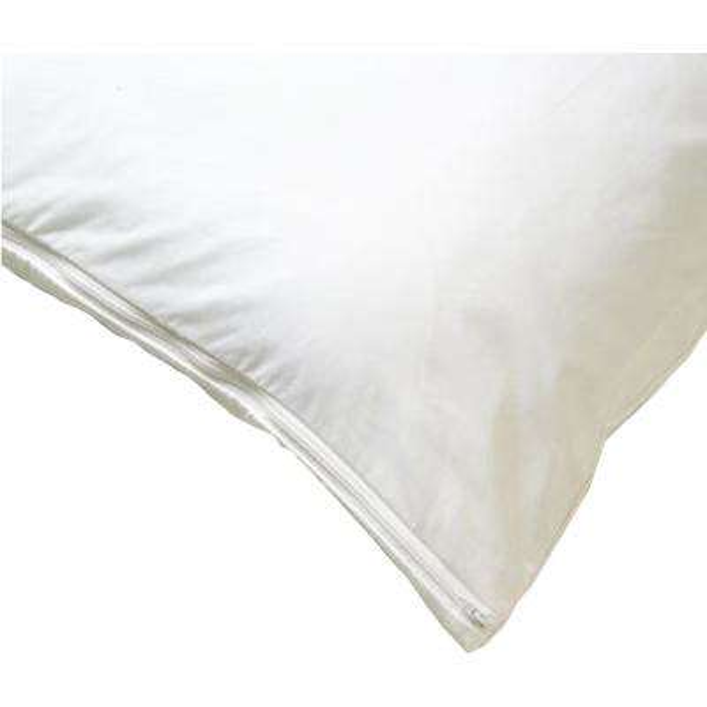 All-Cotton Allergy White 21X60 Body Pillow Cover