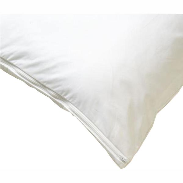 BedCare All-Cotton Allergy White 21x60 Body Pillow Cover 201-2160