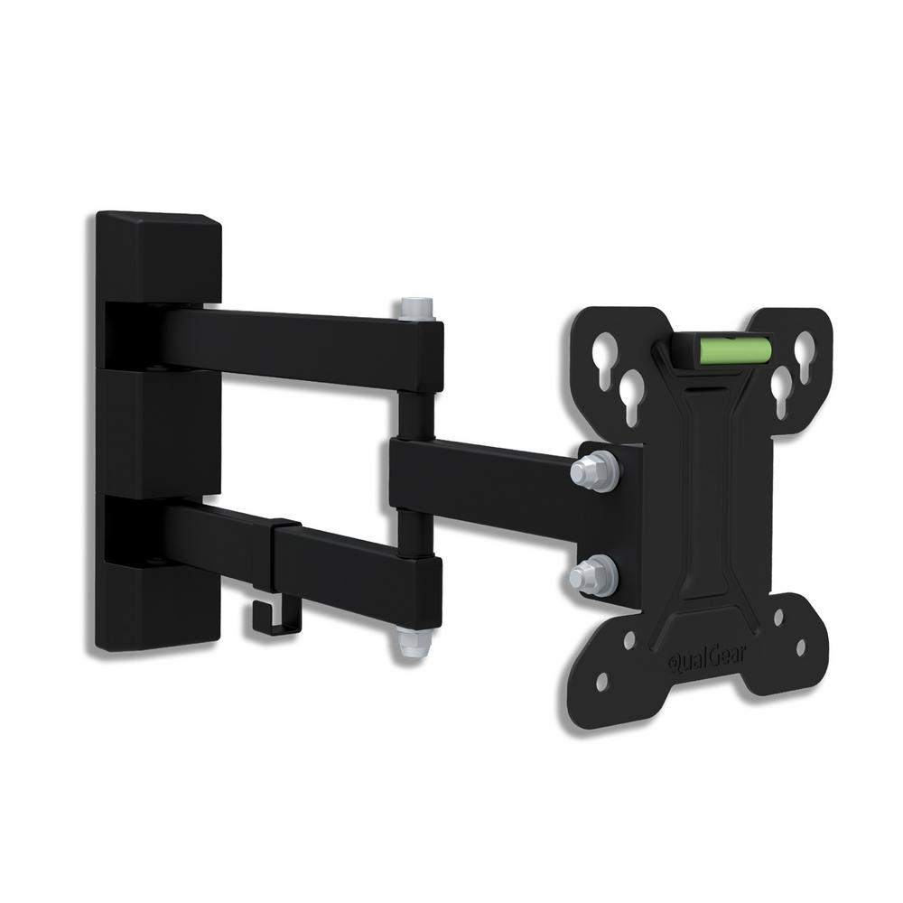 Universal Low-Profile Full-Motion Wall Mount for 13 in. - 27 in.