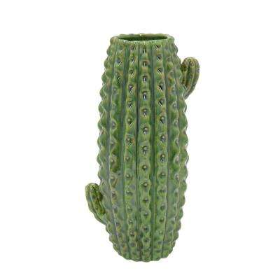 Ceramic Cactus Decorative Vase