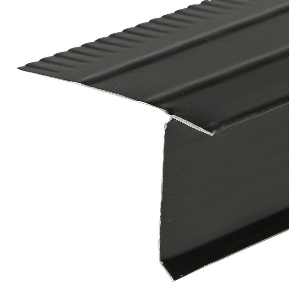 Amerimax Home Products F5 1 2 Black Aluminum Drip Edge