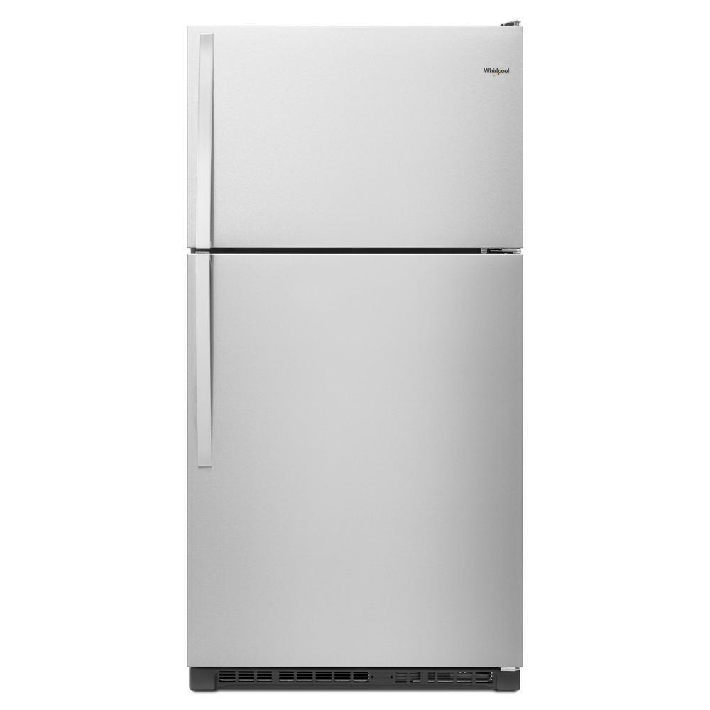 20.5 cu. ft. Top Freezer Refrigerator in Fingerprint Resistant Stainless Steel