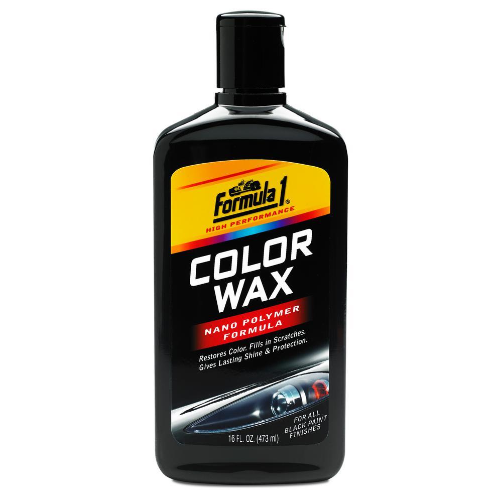 Formula 1 Black Color Wax