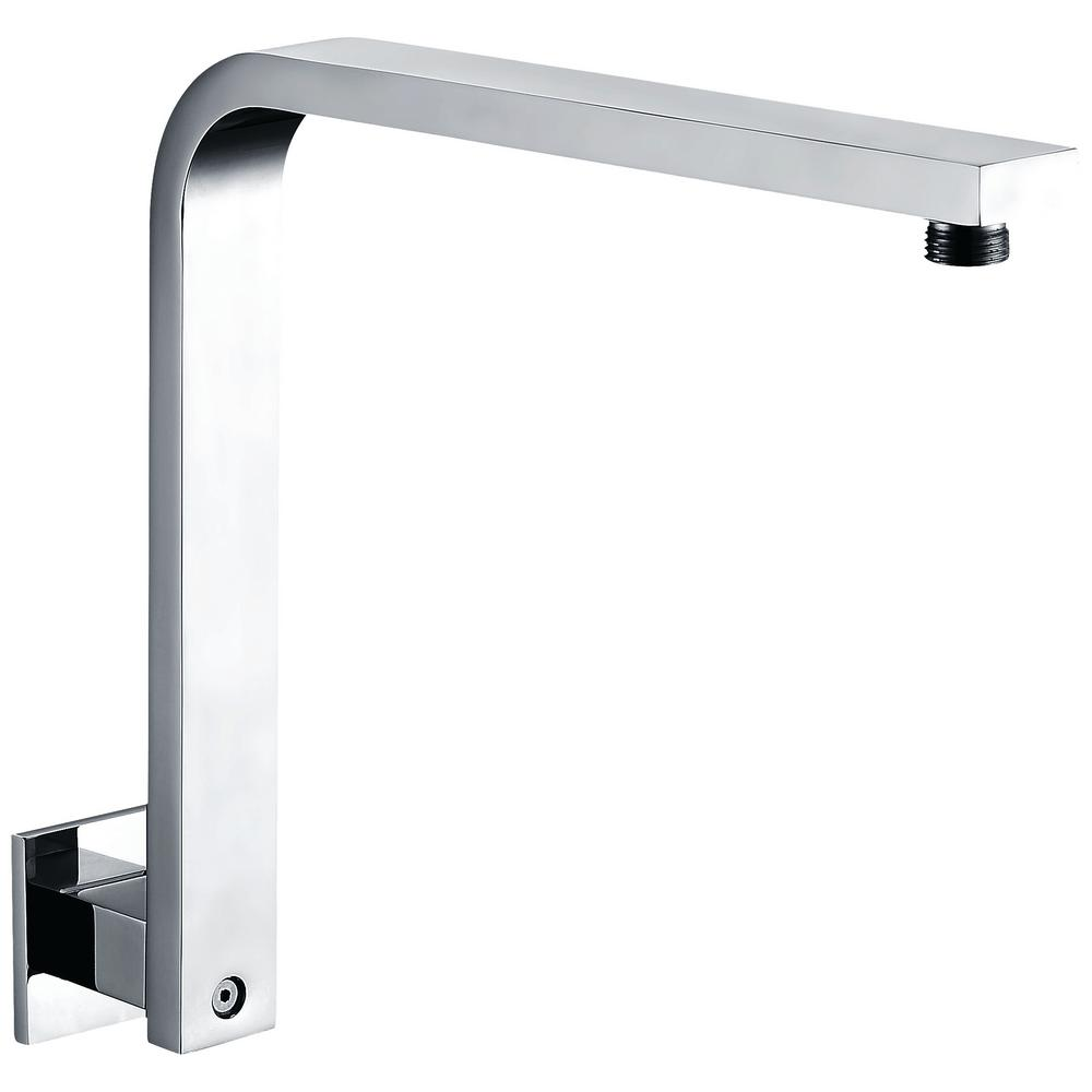 ALFI BRAND 12 in. Wall Mount Shower Arm in Polished Chrome