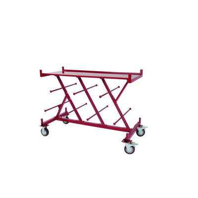 Electrical Extra-Large Cable and Wire Serivce Tool Cart with Portable Workbench