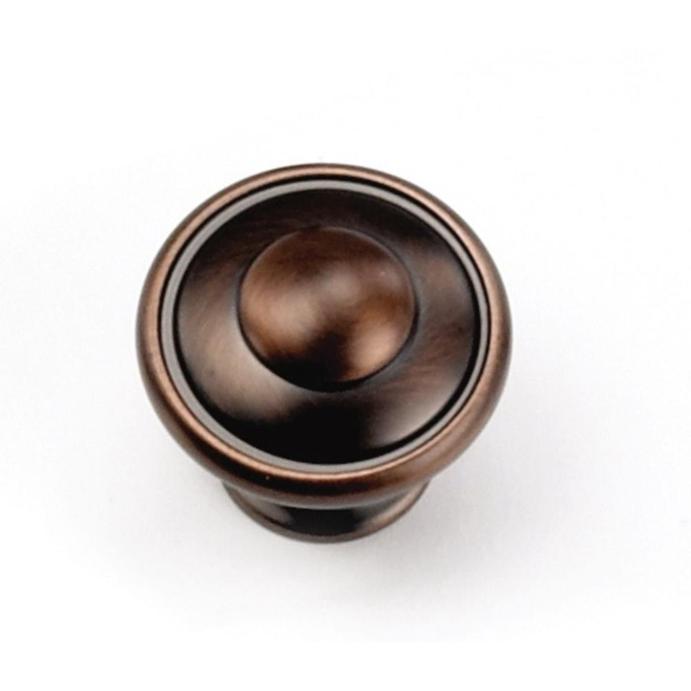 1-1/8 in. Venentian Bronze Cabinet Knob
