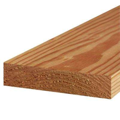 2 in. x 8 in. x 8 ft. #2 Prime Cedar-Tone Ground Contact Pressure-Treated Lumber