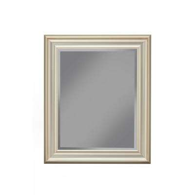 Brushed Bronze Wall Mirror