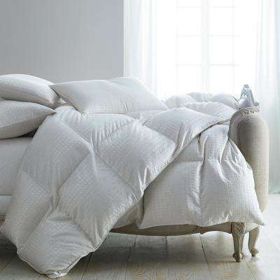 Legends Royal White Queen Goose Down Comforter