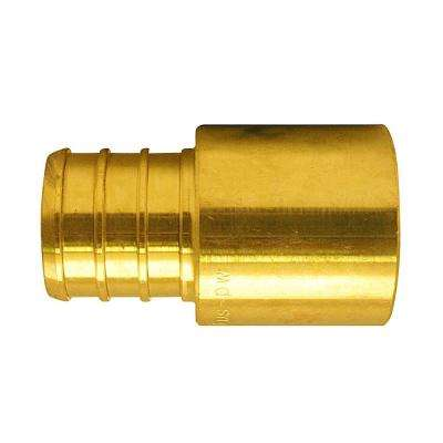 3/4 in. Brass PEX Barb x Male Copper Sweat Adapter