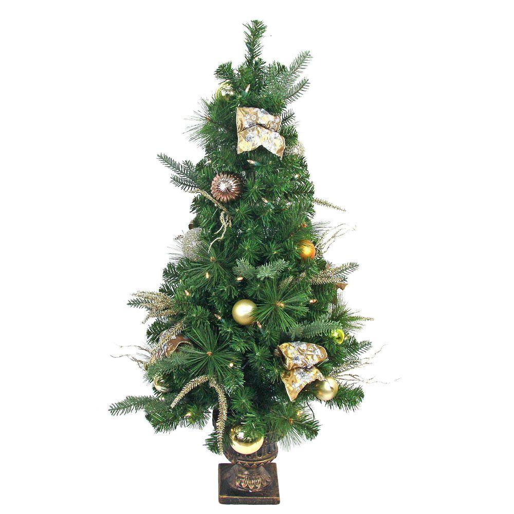 led christmas tree top 28 pre lit outdoor trees battery operated 10593