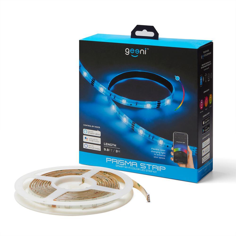 Geeni 9.8 ft. PRISMA STRIP Smart Color LED Wireless Light Strip