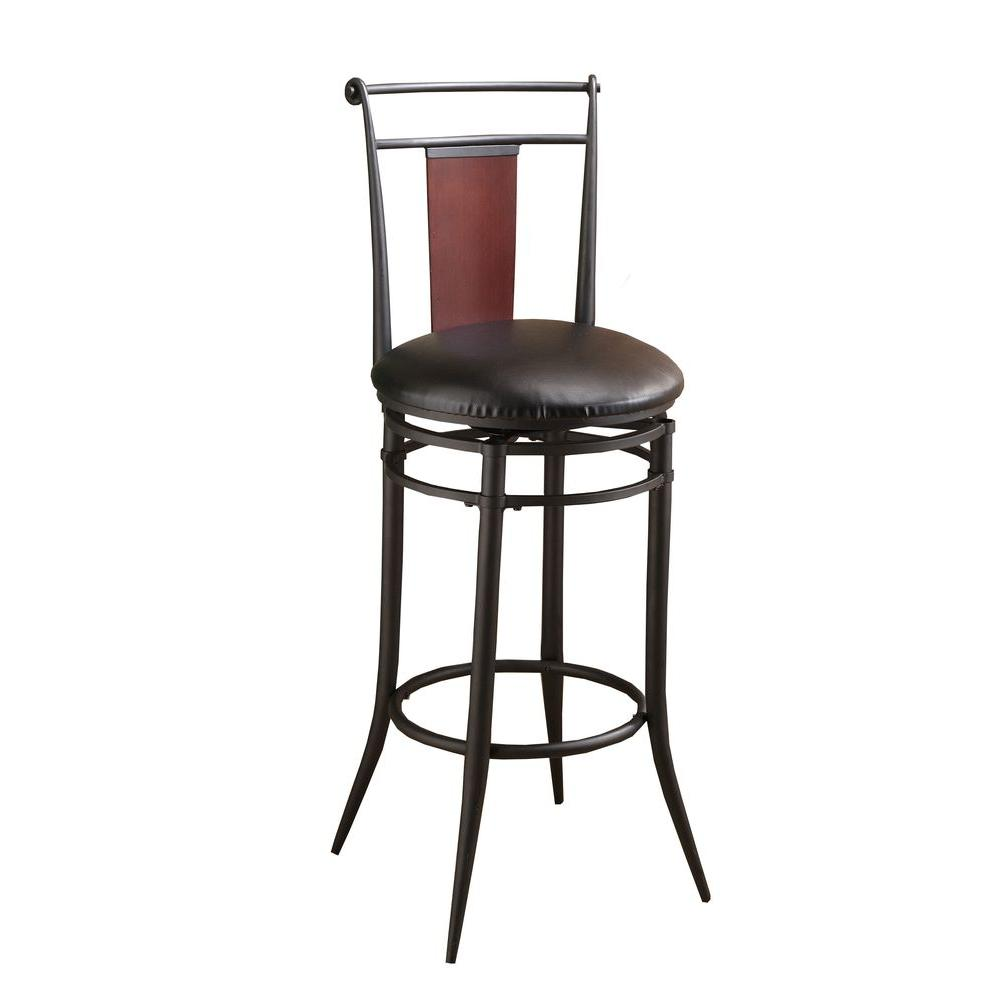 Hillsdale Furniture Midtown Swivel Counter Bar Stool