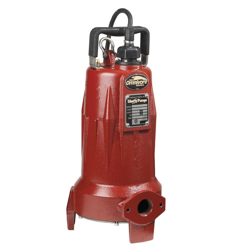 Liberty Pumps LSG-Series Ominivore 2 HP Grinder Sewage Pump