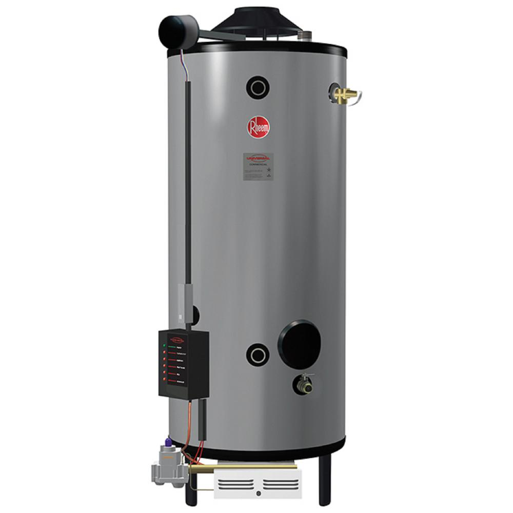 Commercial Universal Heavy Duty 100 Gal. 399.9K BTU Natural Gas Tank Water Heater