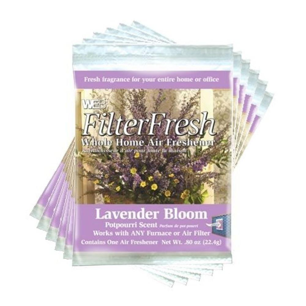 Web Filter Fresh Lavender Bloom Whole Home Air Fresheners (6-Pack)