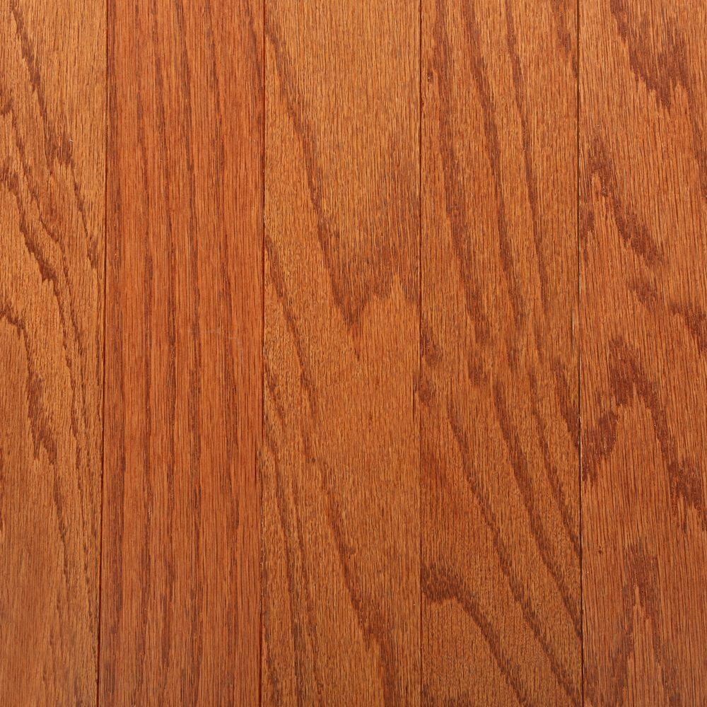 Bruce oak gunstock 3 8 in thick x 3 in wide x random for Bruce flooring